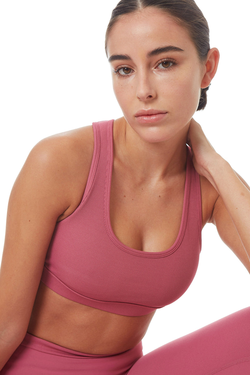 Gottex Studio Ribbed Active Racer Back Bra - Gottex Studio