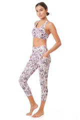 Printed Active Racer Back Bra - Gottex Studio