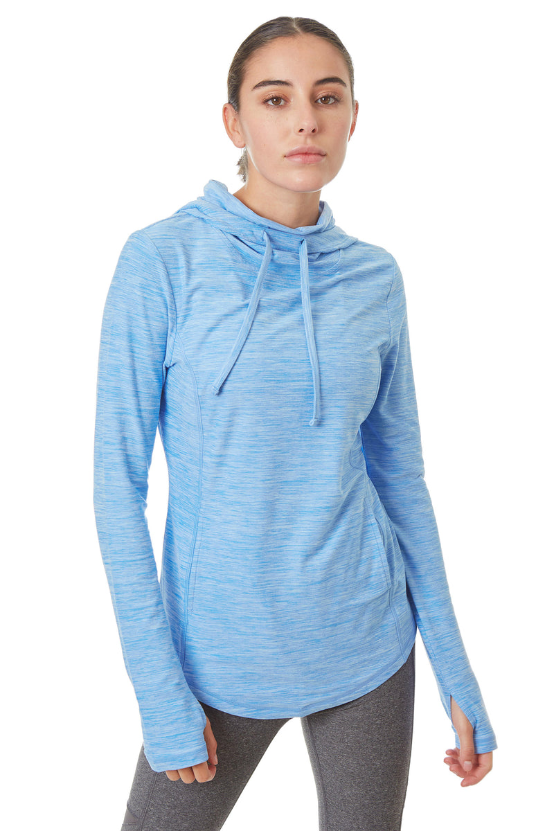 Gottex Studio Brushed Runner's Hoodie - Gottex Studio