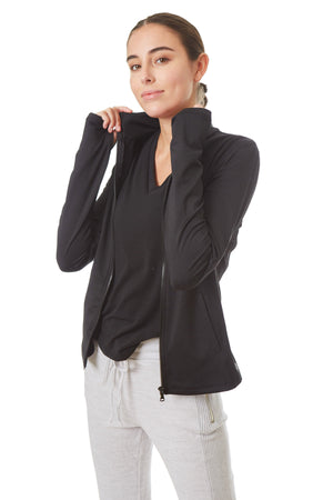 Gottex Studio Cold Resistance Full Zip Jacket - Gottex Studio