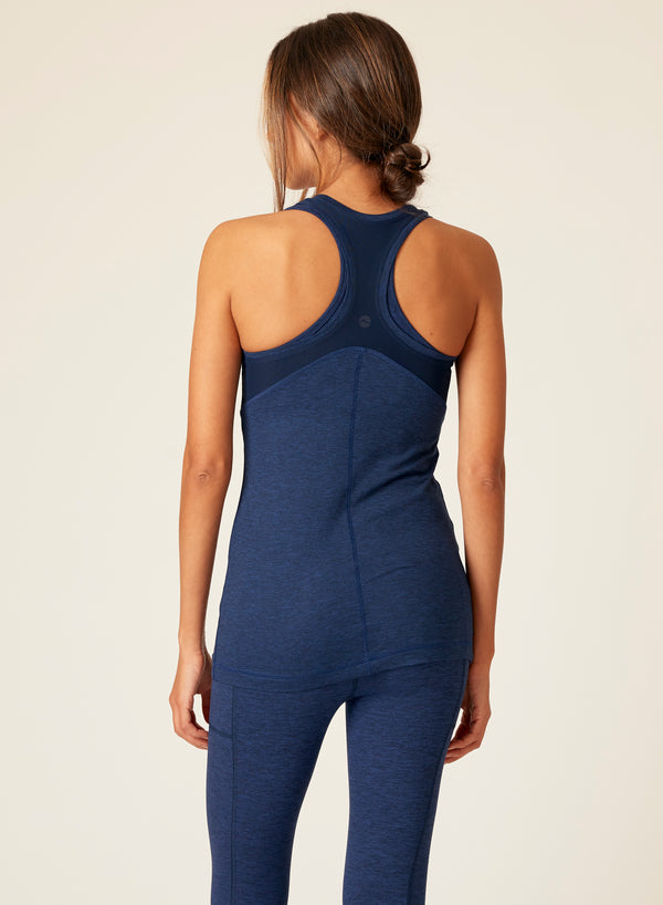 Heather Racer Back Tank