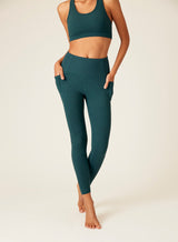 Brushed Rib Band Vanessa Ankle Legging