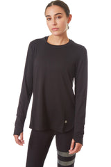 Gottex Studio Loose Fit Long Sleeve Top - Gottex Studio
