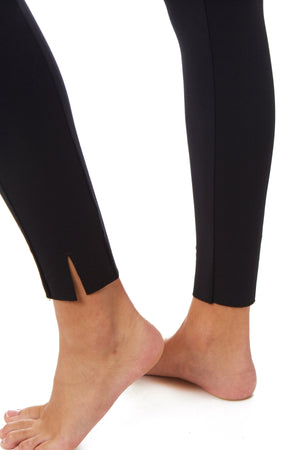 Gottex Studio Slim Hem Zipper Legging - Gottex Studio