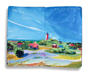 The Traveling Artist: A Visual Journal: Limited Edition
