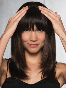 Clip-In Human Hair Fringe/Bang | Human Hair Bang (Clip In)