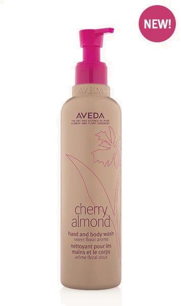 cherry almond hand and body wash | Aveda