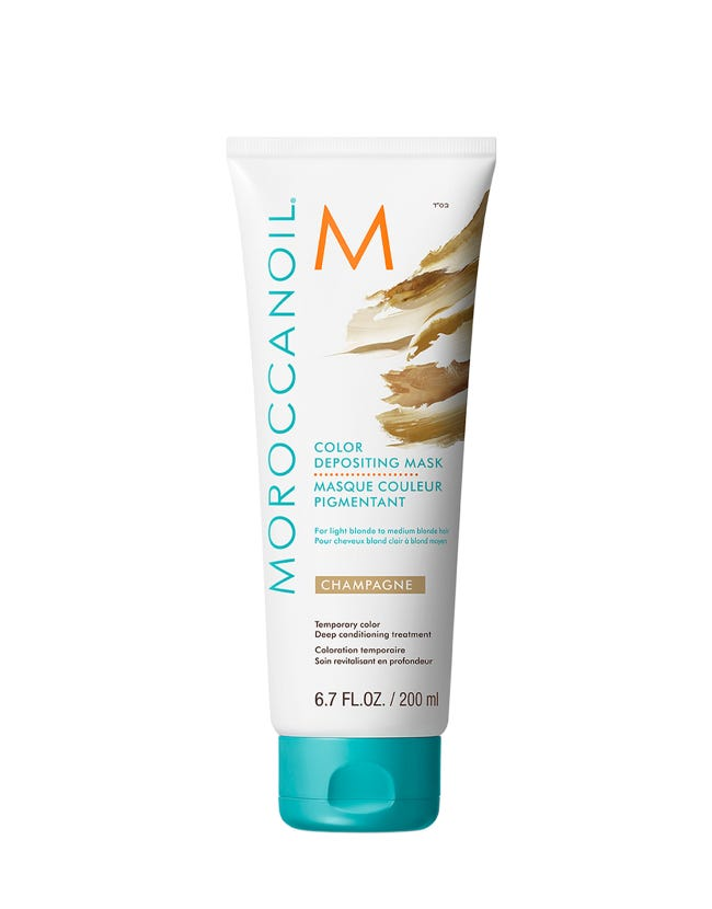 Champagne Color Depositing Mask | Moroccanoil