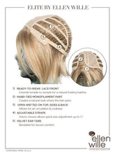Elite | Synthetic Lace Front Wig (Mono Part)