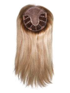 Matrix | Remy Human Hair Topper with Lace Front (Mono Base)