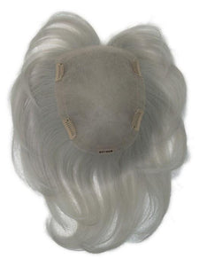 Real | Human Hair/ Synthetic Blend Topper (Hand-Tied)