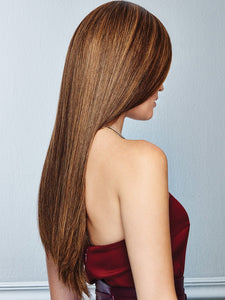 Glamour and More | Remy Human Hair Lace Front Wig (Hand-Tied)