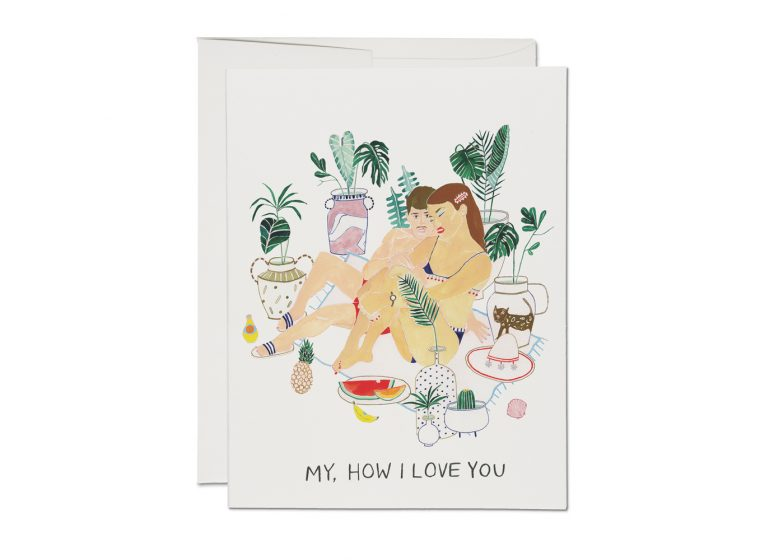 My How I Love You Card