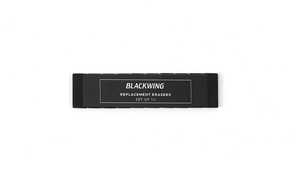 Blackwing Replacement Erasers - Black (Dust Free)
