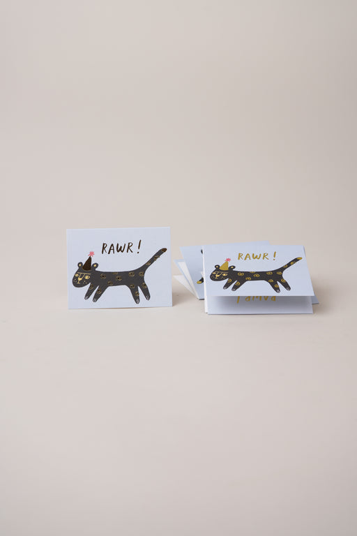 Mini Cards - Leopard