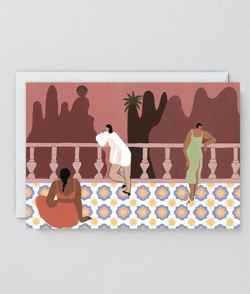 The Balcony Art Card