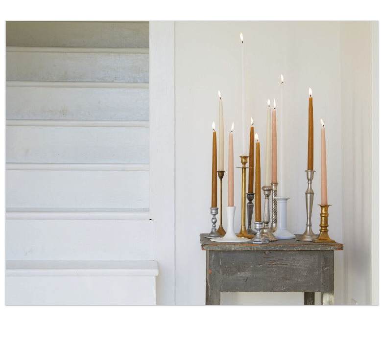 "18"" Taper Candles -  Parchment"