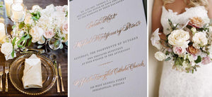 Letterpress Wedding Invitations Long Island