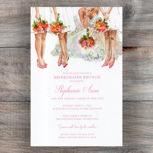 All the Ladies Bridesmaids Luncheon Invitations