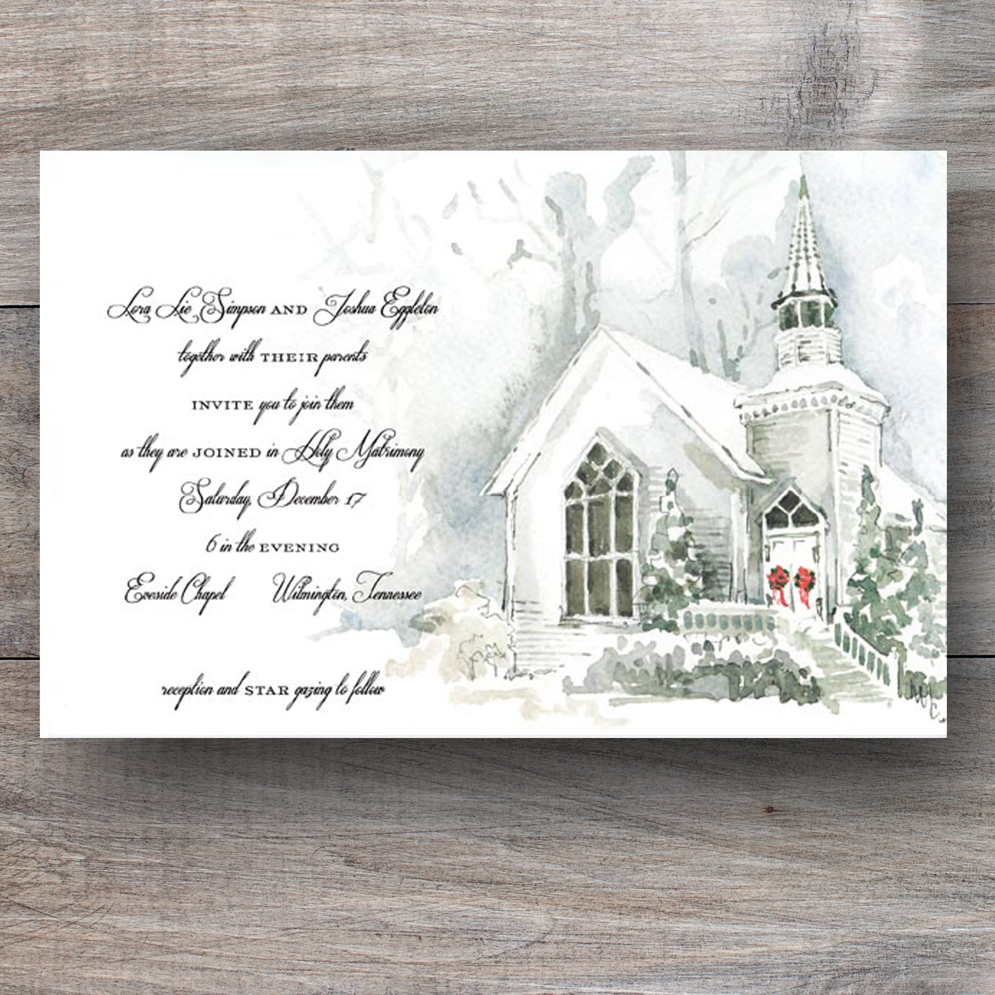 Attractive Religious Christmas Party Invitations Pattern ...