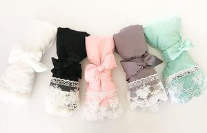 Cotton Lace Robes Colors