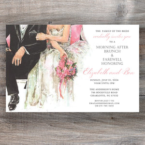 Mine All Mine Couples Wedding Shower Invitation
