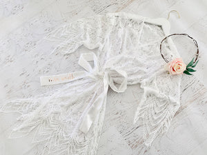 Personalized Lace Bridal Party Robe