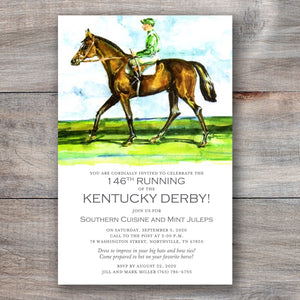 Sport of Kings Kentucky Derby Invitations