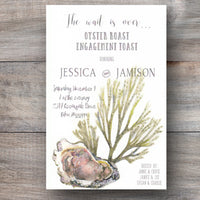 Stump Sound and Weed Oyster Roast Invitations