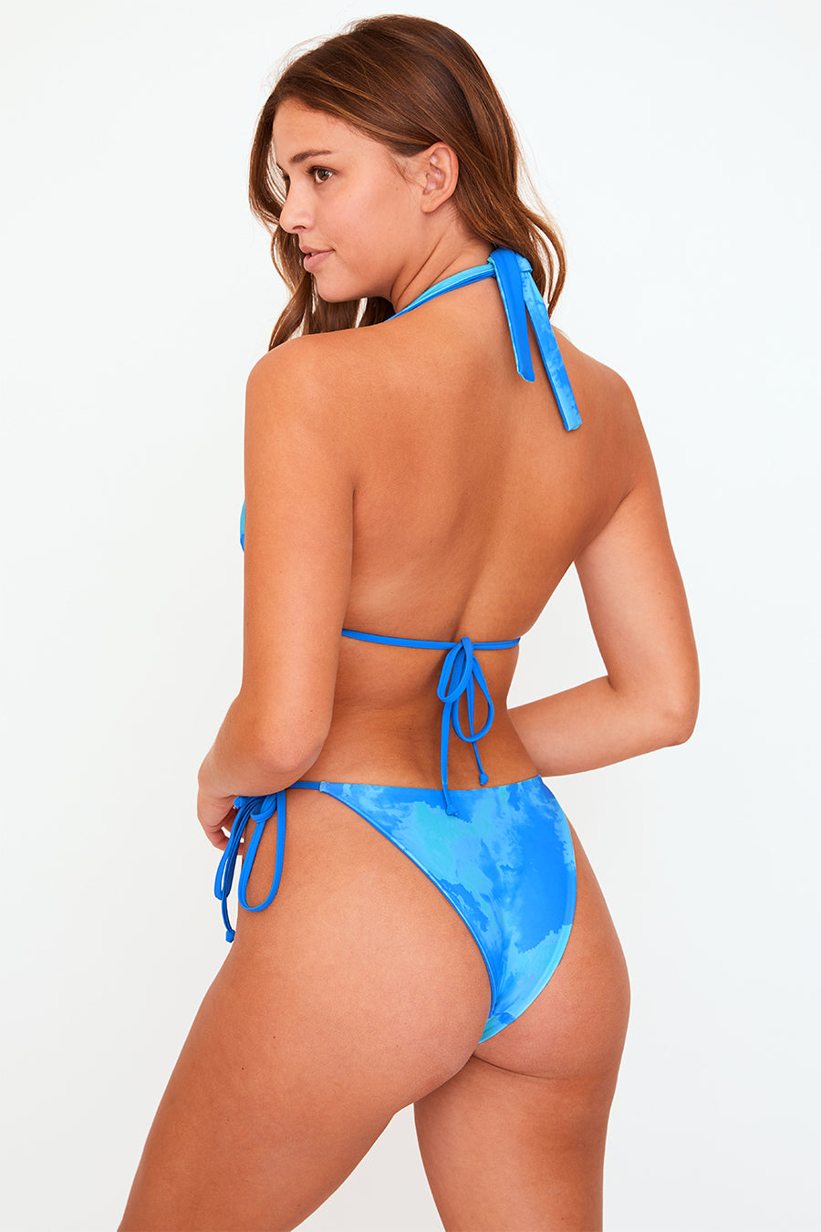 Alana Reversible Bottom (Blue/Turquoise Tie Dye)