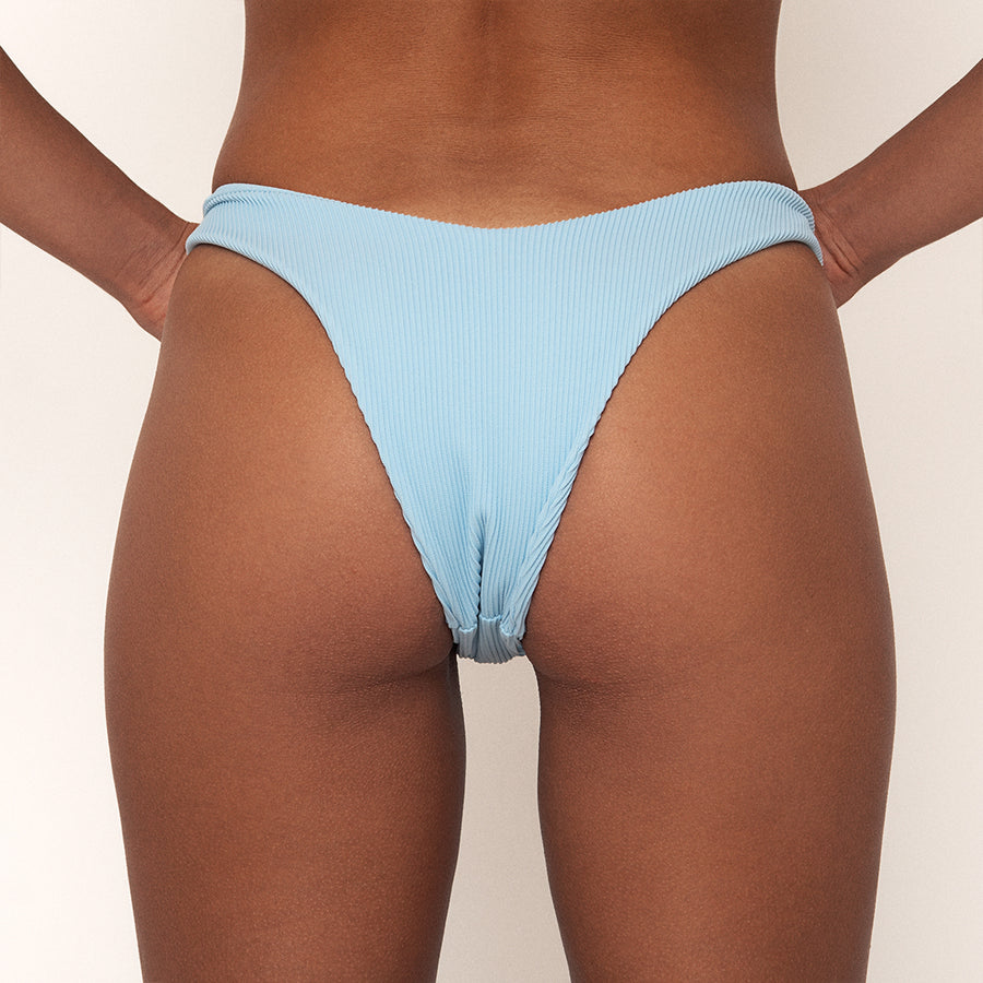 JAYE SKY BOTTOM RIBBED - Vaya Island