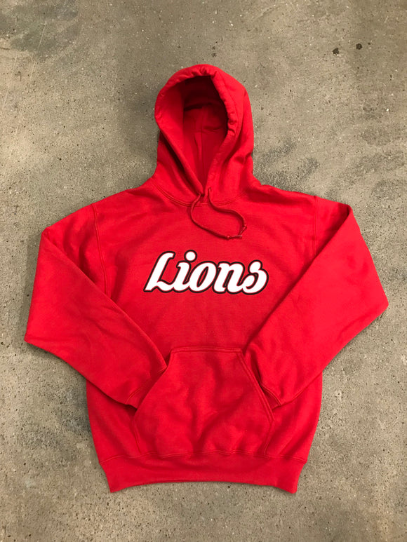 Lions Red Hoodie