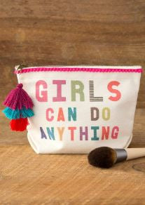 Girls Can Do Anything Canvas Pouch