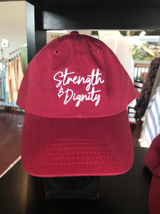Strength + Dignity Hat