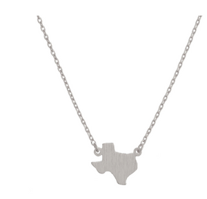 Texas Metal Necklace