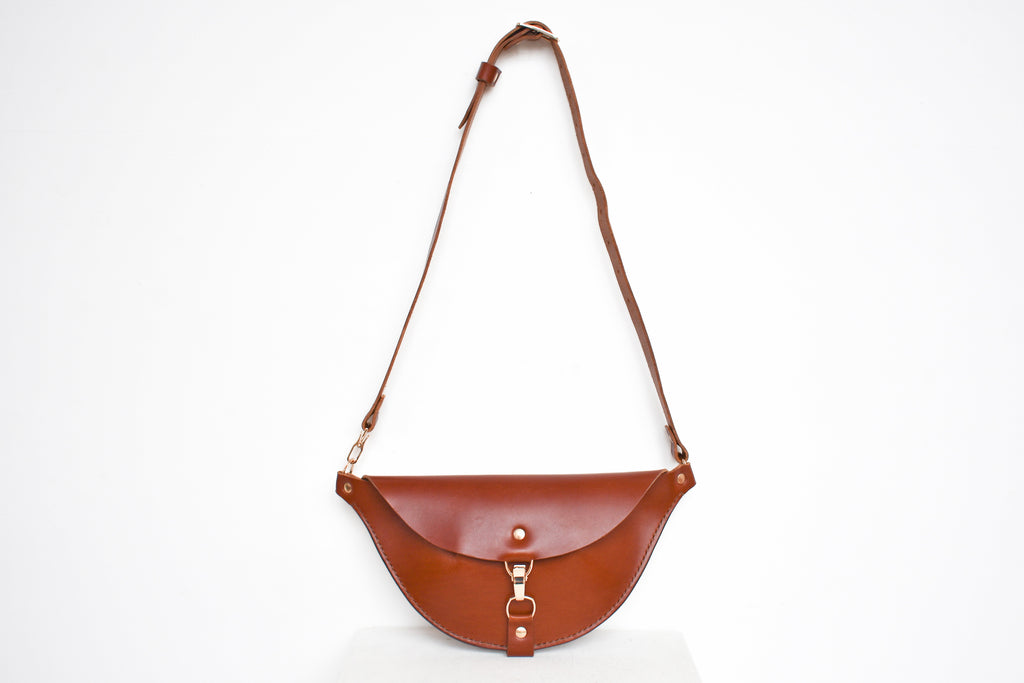 Firenze Hip Bag | Saddle Leather