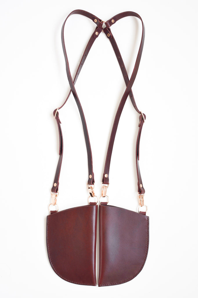 Tasca Holster | Burgundy Leather