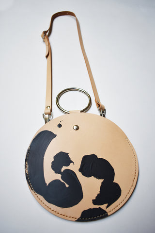 Painted Circle Bag - Limited Series with Philipp Zurmöhle