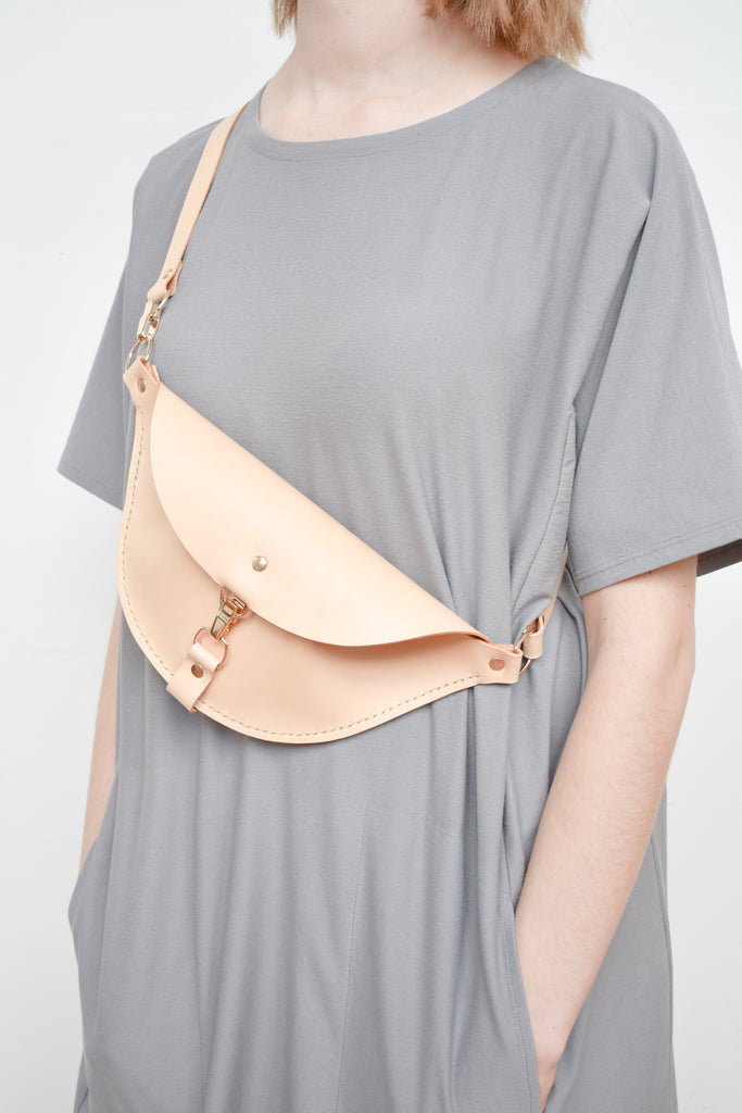 Firenze Hip Bag | Natural Leather