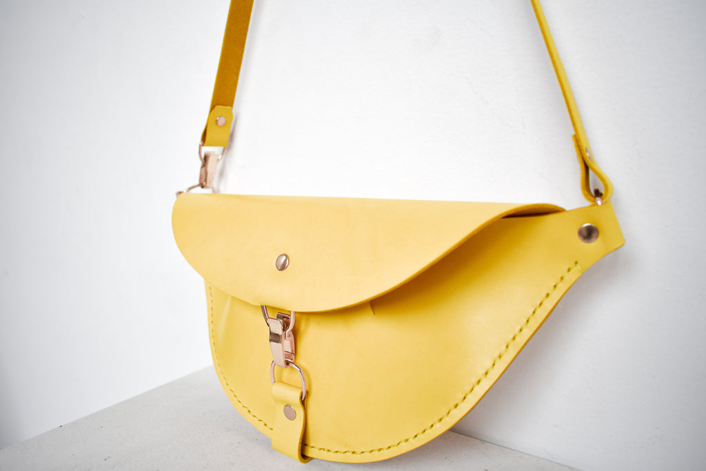 Firenze Hip Bag | Limone Leather