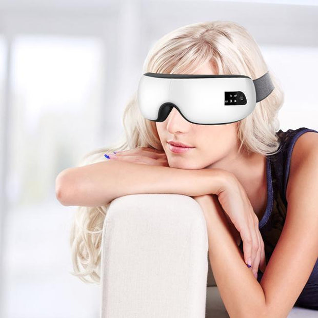 Smart Eye Massager - Heated Massaging Goggles