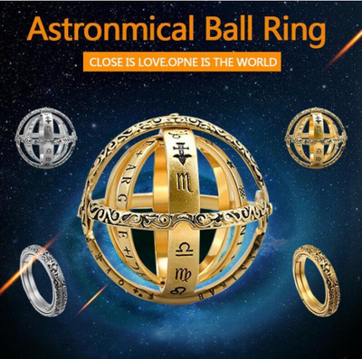 Unisex Astronomical Ball Ring ⭐ Best-Selling ⭐