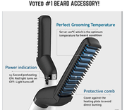 The Modern Stuff™ Beard Straightening Comb
