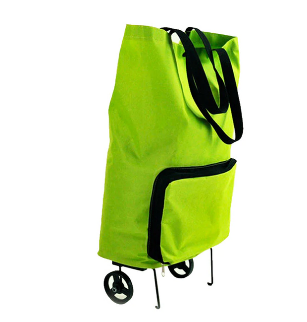 TMS Portable Shopping Trolley Bag