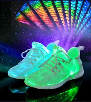 LUMINOUS FIBER-OPTIC LED SNEAKERS
