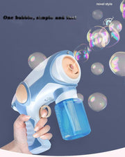 Magic smoke bubble machine for kids
