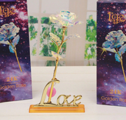 Galaxy Rose with Love Base Stand ⭐ (Best-Selling) ⭐