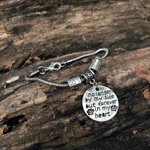 """NO LONGER BY MY SIDE"" BRACELET"