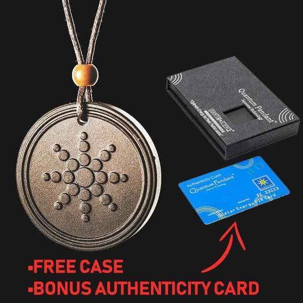 SCALAR EMF PROTECTION AND HEALING NECKLACE