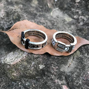 """IF TEARS COULD BUILD A STAIRWAY..."" MEMORIAL RING"